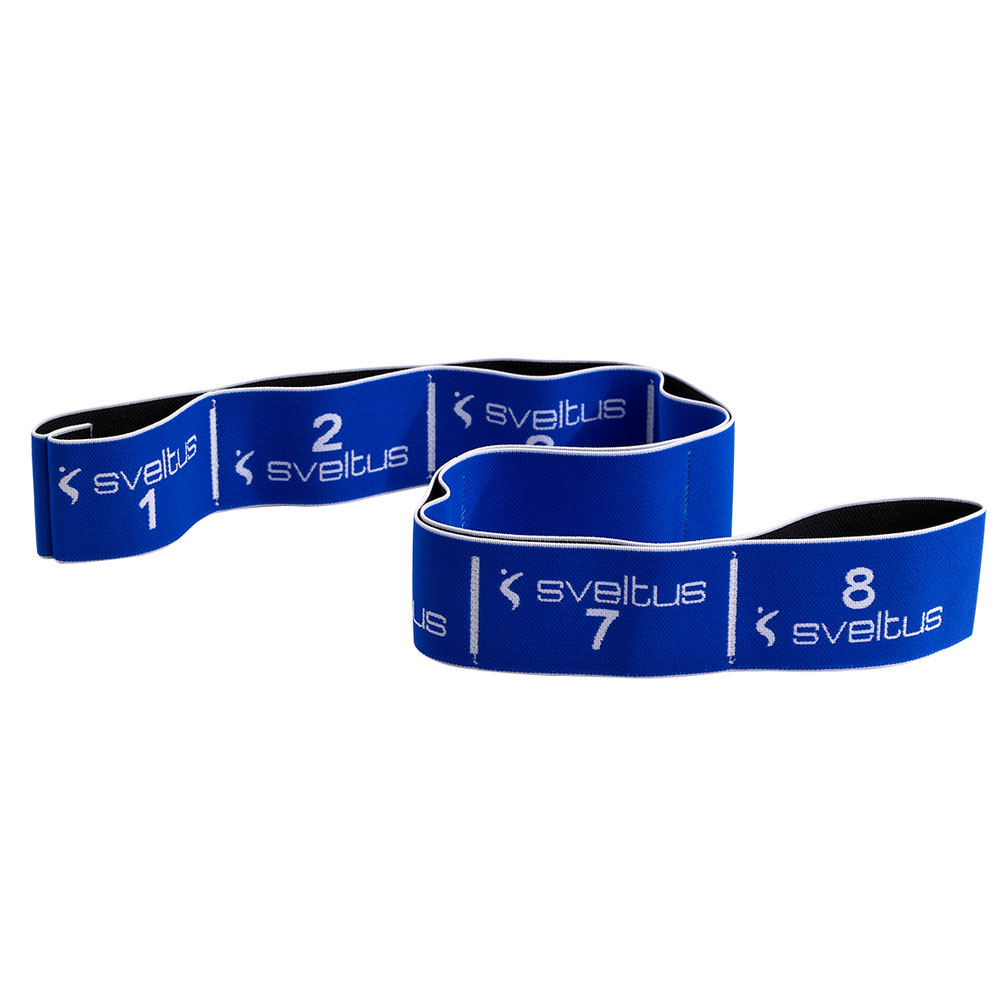 Sveltus Elastiband Level 3 - blau - schwer (20 kg) E-Band-L-03-SET