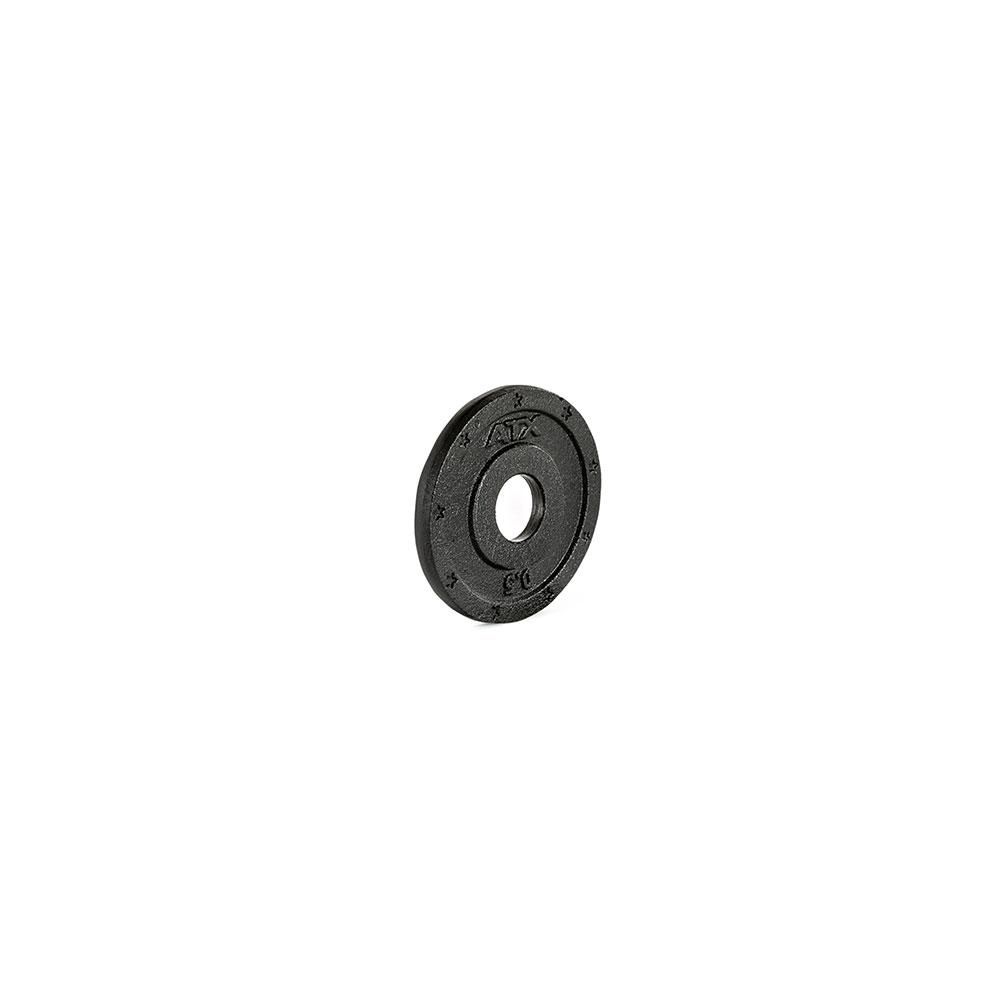 Hantelscheibe ATX® - 2 Grip - Guss 30 mm - 0,5 kg 30-GXA-0050