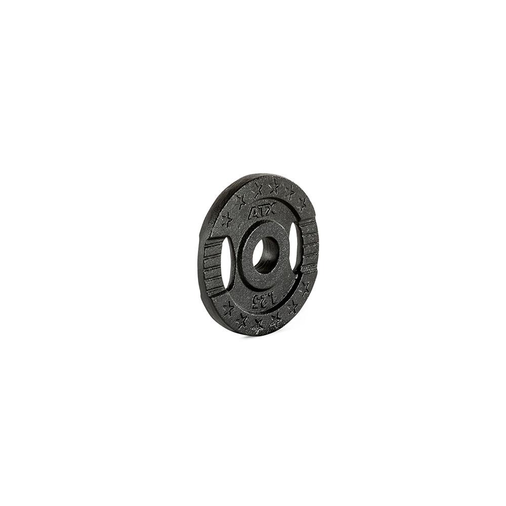 Hantelscheibe ATX® - 2 Grip - Guss 30 mm - 1,25 kg 30-GXA-0125