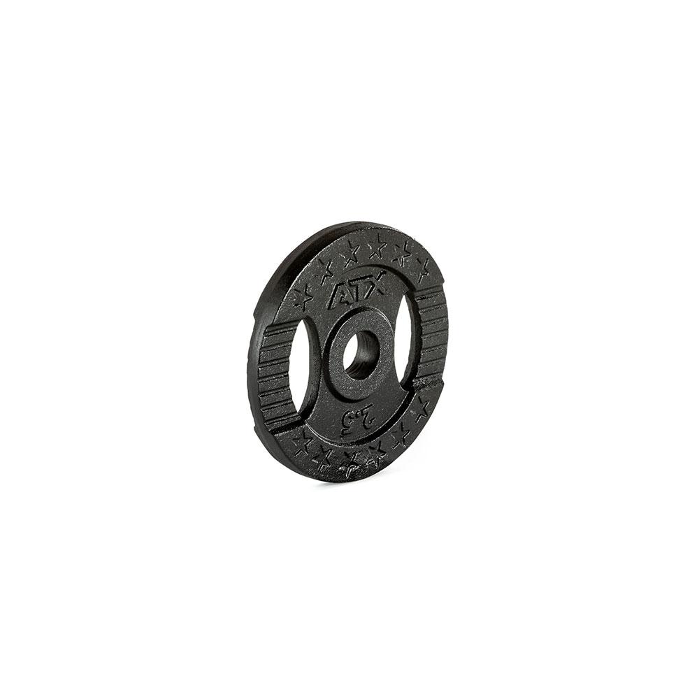Hantelscheibe ATX® - 2 Grip - Guss 30 mm - 2,5 kg 30-GXA-0250