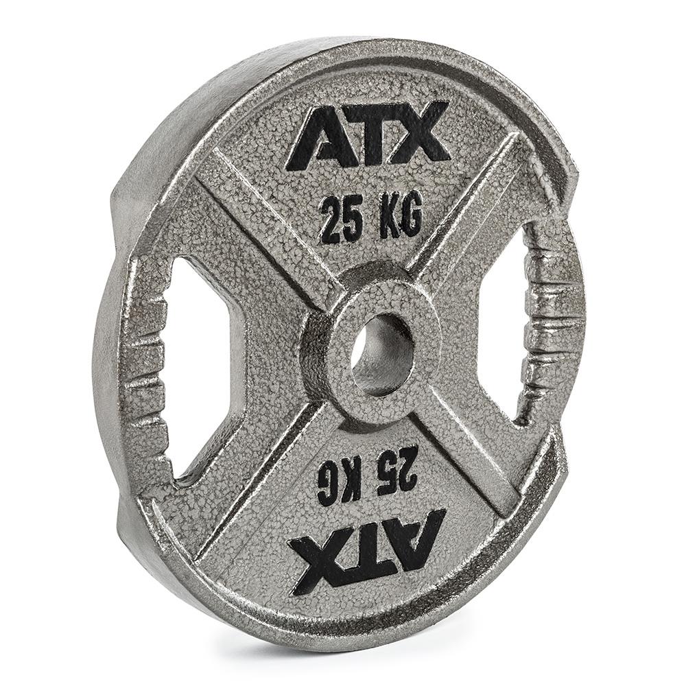 ATX® XT Iron Plate - 25 KG - Hantelscheibe aus Guss mit Hammerschlageffekt 50-ATX-XT-2500