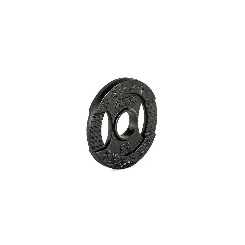 Hantelscheibe ATX® - 2 Grip - Guss 50 mm - 2,5 kg 50-GXA-0250