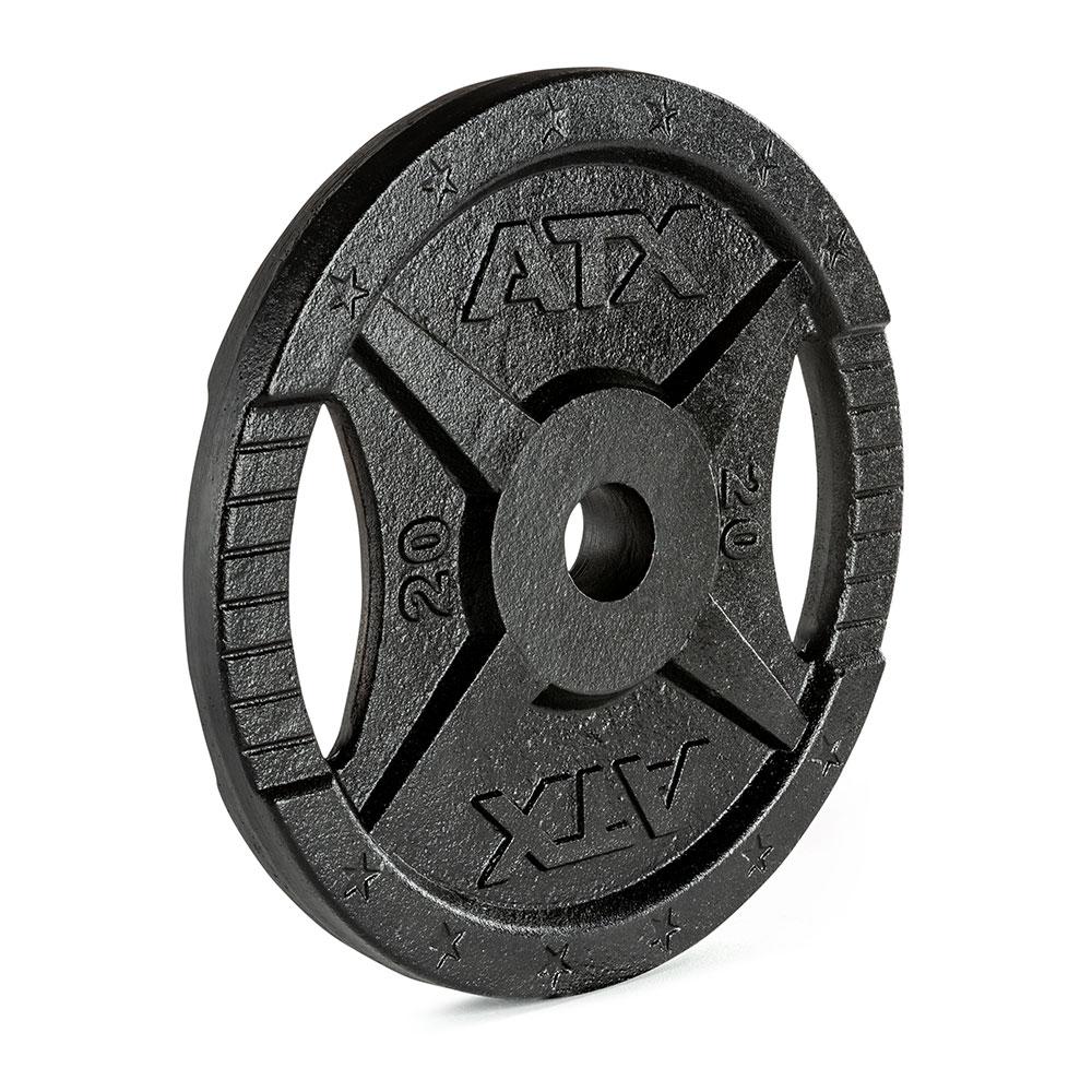 Hantelscheibe ATX® - 2 Grip - Guss 50 mm - 20 kg 50-GXA-2000