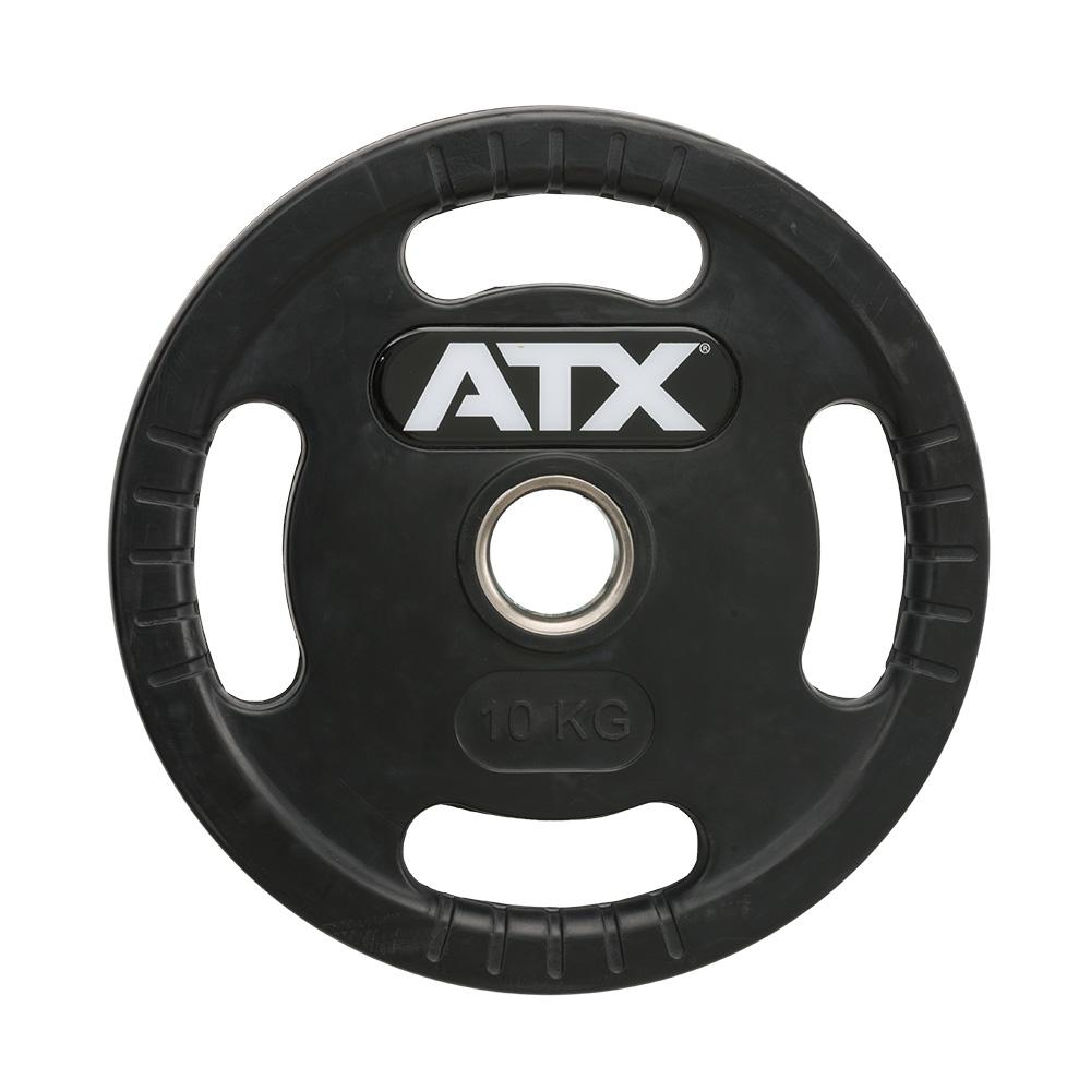 ATX® Logo-Gripper - gummierte Hantelscheiben - 50 mm - 10,0 kg 50-LG-ATX-1000
