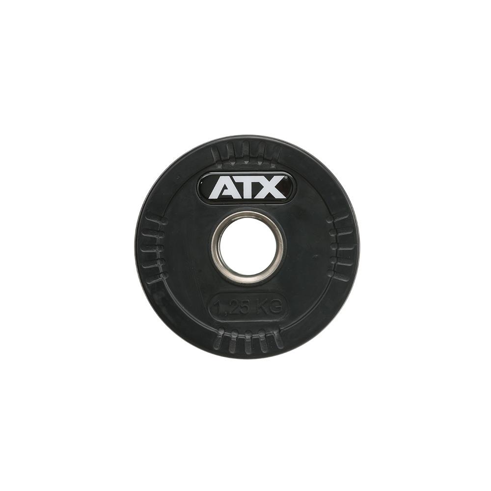 ATX® Logo-Gripper - gummierte Hantelscheiben - 50 mm - 1,25 kg 50-LG-ATX-0125