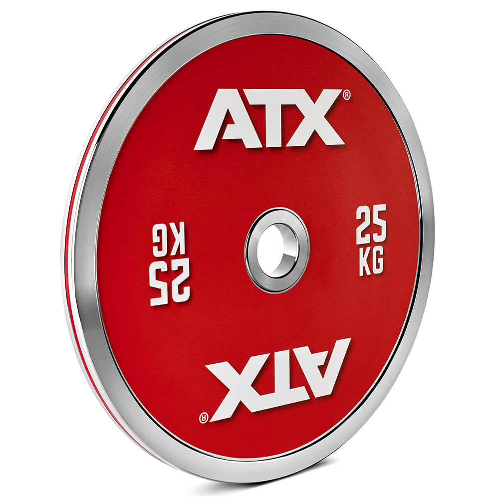 ATX® Calibrated Steel Plate- CC 25 kg 50-LXST-CC-2500