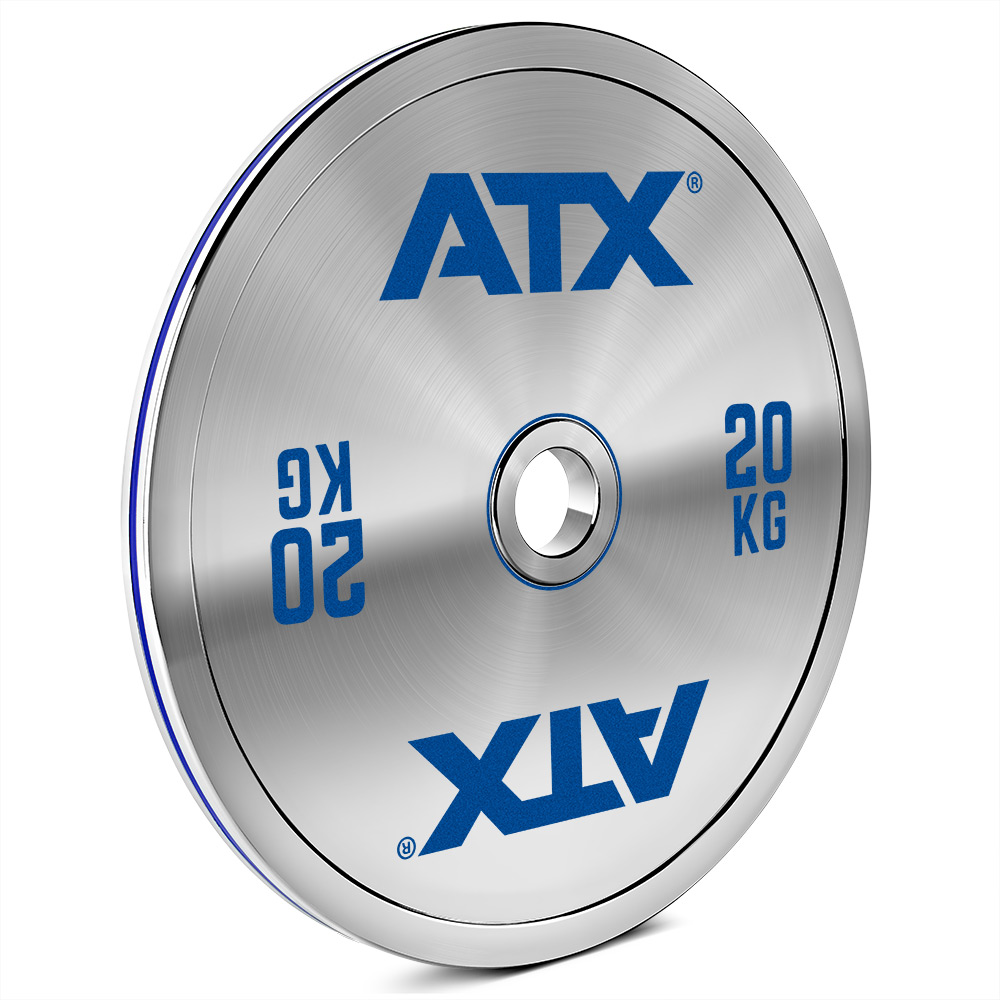 ATX® Calibrated Steel Plate - CS 20 kg 50-LXST-CS-2000