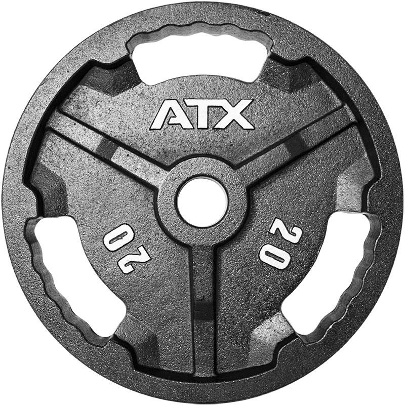 ATX® Hantelscheiben - Guss 50 mm 20 kg 50-ATX-G-2000