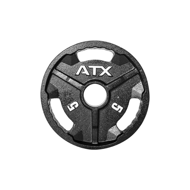 ATX® Hantelscheiben - Guss 50 mm 5 kg 50-ATX-G-0500