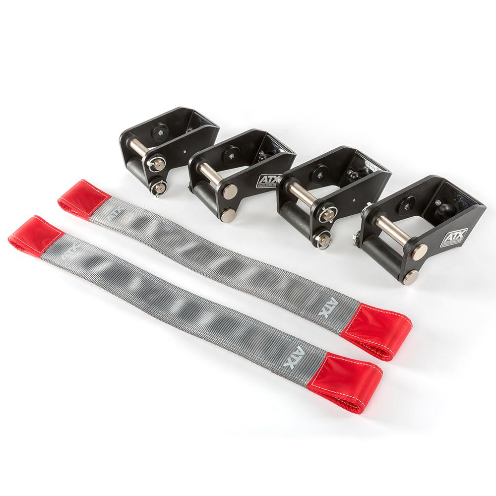 ATX® Safety Strap System 75 - V2 - Hantel Ablage- Notablage - Set ATX-STR-V2-75-SET