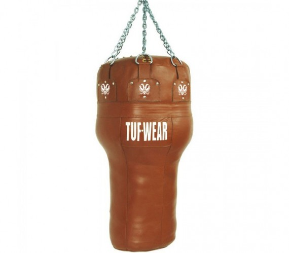 TUF WEAR Boxsack Uppercut aus Leder