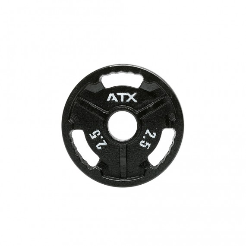 ATX® Hantelscheibe aus Guss - Gewicht  2,5 kg - Innendurchmesser 50 mm
