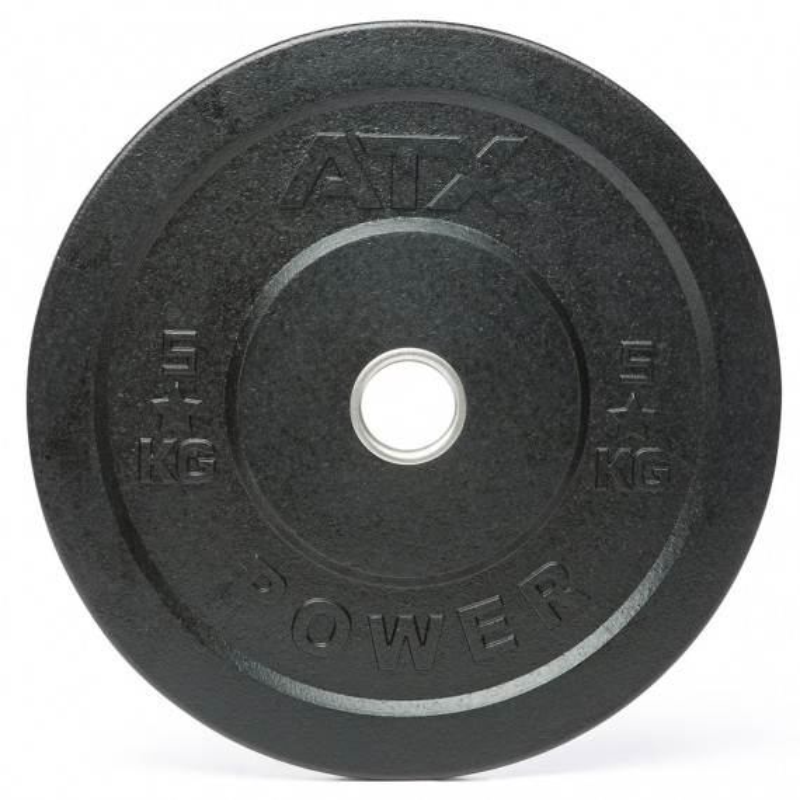 ATX Rough Rubber Bumper Plate 5 - 25 kg