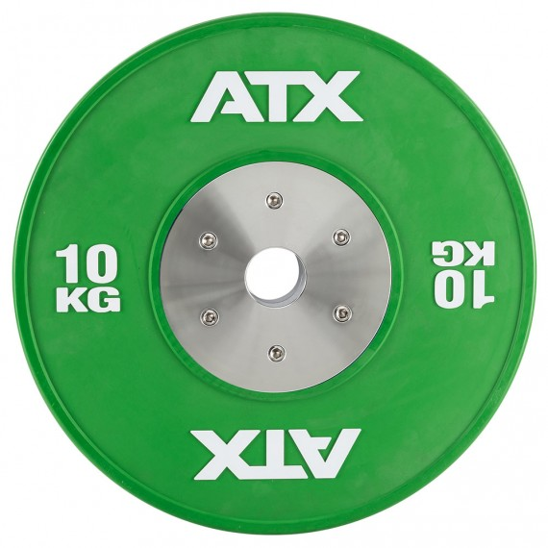 ATX® HQ-Rubber Bumper Plate - 50 mm - grün - 10 kg