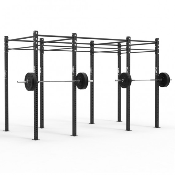 ATX Free Stand RIG Standard, 3-Feld System, 4 Rack Stations, 10 Pull-Up Stations, mit Zubehör