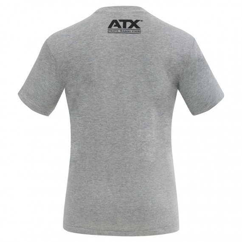ATX® T-Shirt grau - Größen M bis XXL - Rückseite