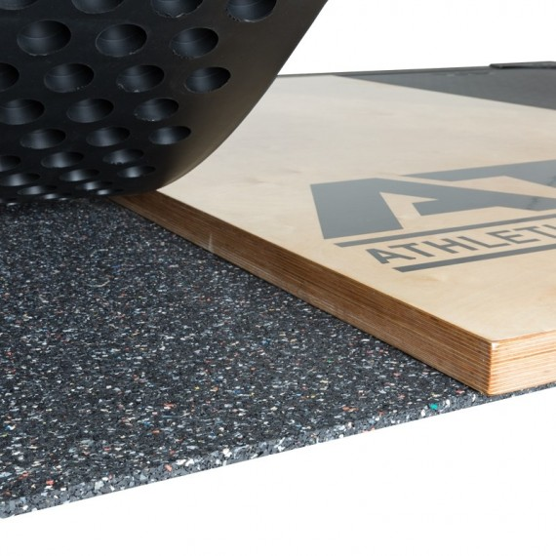 ATX Weight Lifting Platform - Detailaufnahme des Bodenbelags