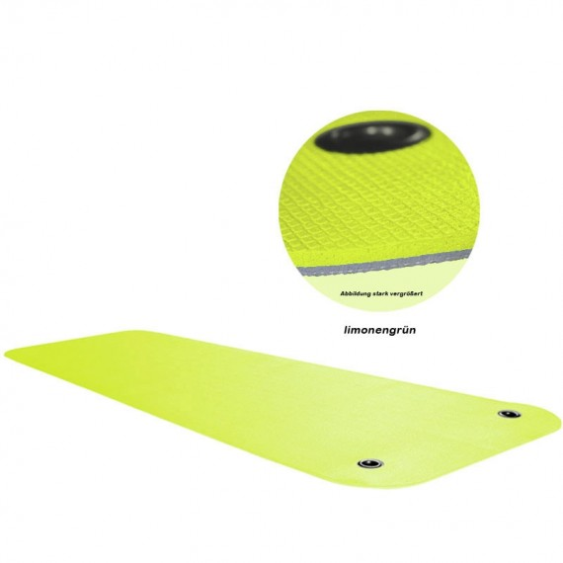 Gymnastikmatte Bicolor - Lemongreen