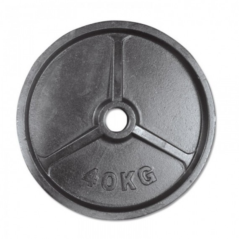 Hantelscheibe Guss 50 mm - 40,0 kg
