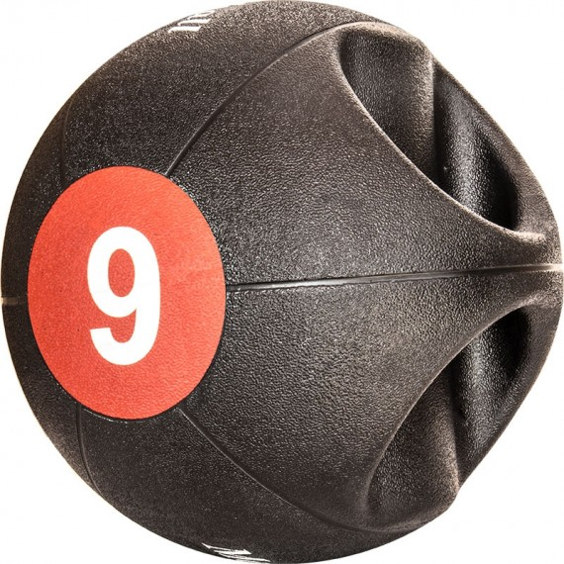 Medizinball - DUAL GRIP in 9 kg