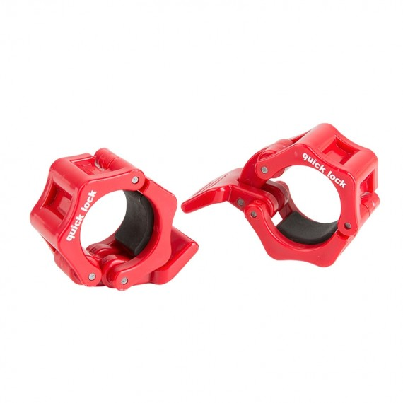 Quick Lock Collar Clamp 30 mm - rot