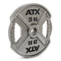 ATX® XT-Iron Plate - Hantelscheibe mit Hammerschlageffekt