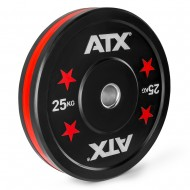 ATX® Color Stripes Bumper Plate - 25 kg