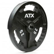 ATX® Hantelscheibe aus Guss - Gewicht 25 kg Innendurchmesser 50 mm