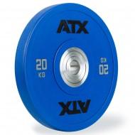 ATX Urethan Bumper Plate schwarz - 20 kg