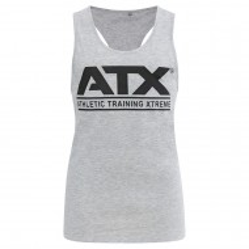 ATX® Muscle-Shirt grau - Vorderseite