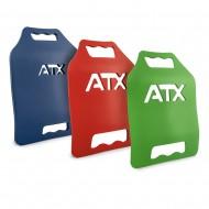 ATX® Tactical Weight Vest Plates - Gewichtsplatten für die ATX® Gewichtsweste in drei Gewichtsgrößen 4,17 lb, 6,17 lb, 9,17 lb