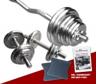 Chrom - Super-Curl Set 47 kg