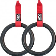 Gym Rings-Option für ATX® Suspension Trainer - schwarz/rot