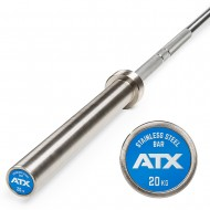 ATX® V4A Power Bar / Hantelstange - Edelstahl - Stainless Steel