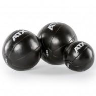 ATX® Medizinball Classic - Kunstleder - schwarz - 3 bis 10 kg (Bälle)