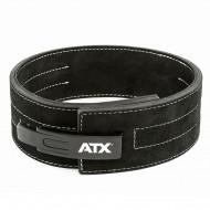 ATX® Power Belt Clip - Veloursleder - schwarz - Größe S - XXL - Vorderansicht