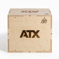 ATX® Sprungbox aus Holz - niedrige Sprunghöhe