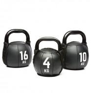 PVC Kettlebell / Kugelhantel - 4 kg bis 16 kg
