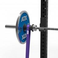 ATX® Widerstandsband - Adapterbuchsen für Langhanteln - Anwendungsbeispiel