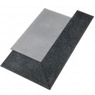 Gymfloor® - Rubber Tile System - Aufgehelemente Rand und Ecken - 20 mm