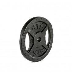 Hantelscheibe ATX® - 2 Grip - Guss 30 mm - 10 kg