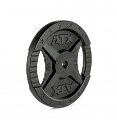 Hantelscheibe ATX® - 2 Grip - Guss 30 mm - 15 kg