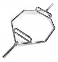 30 mm Hex - Bar verchromt SONDERPREIS B-Ware (Hantelstangen)