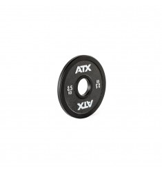 ATX® Calibrated Steel Plate - RL - 2,5 kg - black (Hantelscheiben)