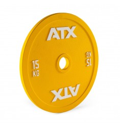 ATX® Calibrated Steel Plate - RL - 15 kg - yellow (Hantelscheiben)