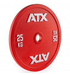 ATX® Calibrated Steel Plate - RL - 25 kg - red (Hantelscheiben)