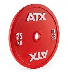 ATX® Calibrated Steel Plate RL / kalibrierte Hantelscheiben (Hantelscheiben) - 25 KG