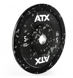 ATX® Color splash Bumper Plate - 5 kg - grey (Hantelscheiben)