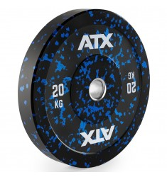 ATX® Color splash Bumper Plate - 20 kg - blue (Hantelscheiben)
