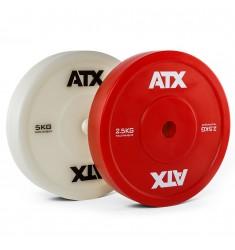 ATX® Weight Lifting Technique Plate - Technikhantelscheiben - 2,5 und 5,0 kg (Hantelscheiben)